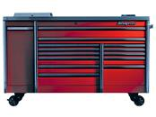 CRAFTSMAN BTM TOOLBOX  3-DRAWER RED/BLK